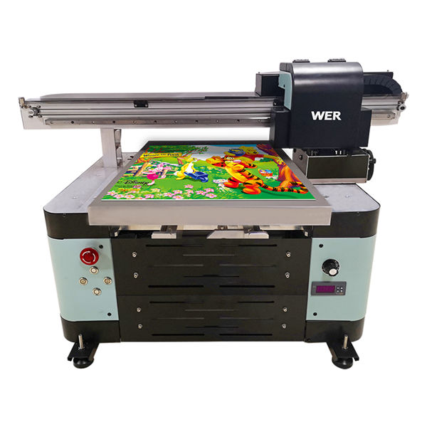 industria de a2 dx5 capul uv digitale flatbed uv imprimantă flatbed mare format