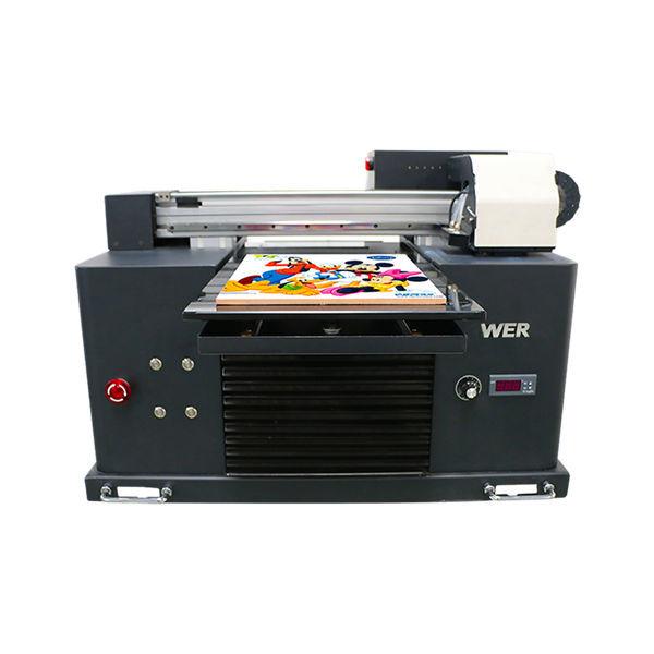 2019 noul imprimanta dx5 cu cap plat de imprimare a3 size uv led machine