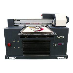 eco solvent flatbed imprimanta ieftine pret / digital flatbed imprimanta tricou