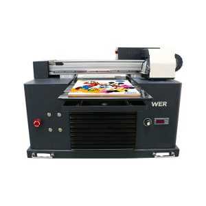 dimensiune a3 full automatic 4 culori dx5 cap de imprimanta mini uv imprimanta dtg uv flatbe