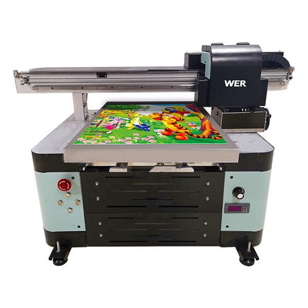 a2 dimensiune 4060 imprimantă digitală flatbed pentru sticla cosmetică acrilică