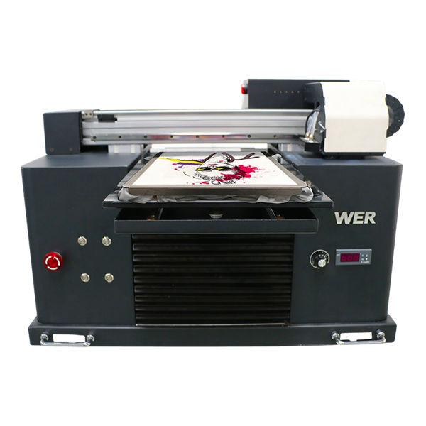 a4 flatbed dtg direct la îmbrăcăminte mașină de imprimare textile tricou imprimantă