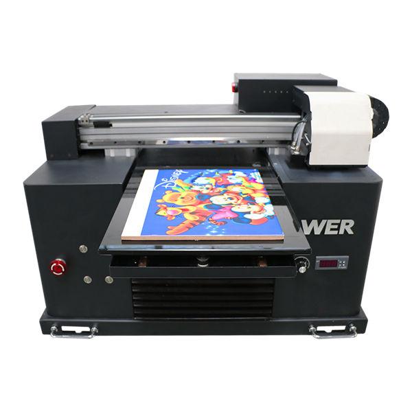 Specificații Tipul plăcii: Tipul tipului imprimantei: Tipul imprimantei cu jet de cerneală: Nouă Calitate automată: Tensiune automată: 220V Dimensiuni (L * W * H): 2200 * 2300 * 1330mm Greutate: 500KG Garanție: 2 ani, 18 luni Dimensiune imprimare: 1000 * 1600mm Tipul de cerneală: cerneală UV Denumire produs: Imprimantă UV cu planșă Cap de imprimare: TOSHIBA CE4 Culoare cerneală: CMYK LC LM W Rezoluție: 360 * 1440dpi Viteză de imprimare: 3-6sq / h Software: GMG Aplicare: Indoor Outdoor Publicitate Înălțime de imprimare: 1-100mm (personalizează) Sistem de curățare: Sistem de curățare automată