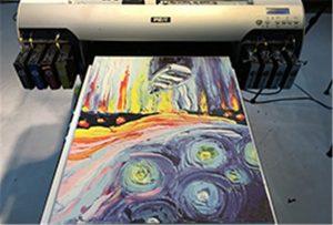 Proba canvas de la imprimantă A2 UV WER-EH4880UV