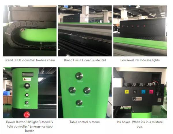 Tipăriți diferite tipuri de produse utilizând cerneală UV