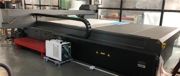 Formatul mare Imprimantă UV cu imprimantă din sticlă de mare viteză digitală pentru imprimare de sticlă
