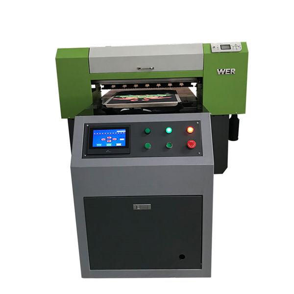 Cel mai bine vândut T-shirt Textile Flatbed Imprimanta acril Imprimanta de îmbrăcăminte Imprimantă Flatbed Machine