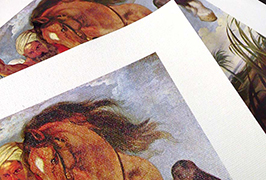 Canvas de ulei imprimat cu imprimanta eco solvent WER-ES2501 de 2,5m (8 picioare)