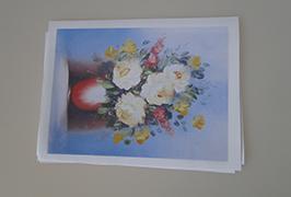 Canvas de ulei imprimat cu o imprimanta eco solvent WER-ES2502 de 2,5m (8 picioare)