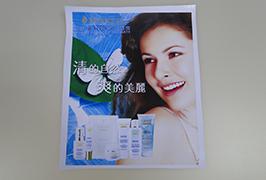 Banner PVC tipărit de o imprimanta eco solvent WER-ES3201 de 3,2 metri (3 picioare) 3