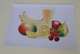 Banner PVC imprimat de imprimanta eco solvent WER-ES3201 de 3.2m (10 picioare)