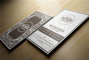 Carte de vizită din lemn imprimată de A1 uv WER-EP6090UV