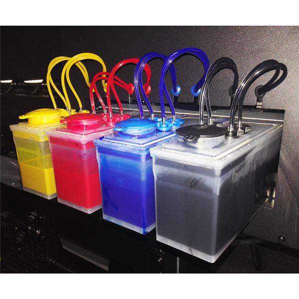 InkFa-1800 4 culori CMYK format mare de eco solvent imprimantă flexibil flex banner de imprimare prețul mașinii